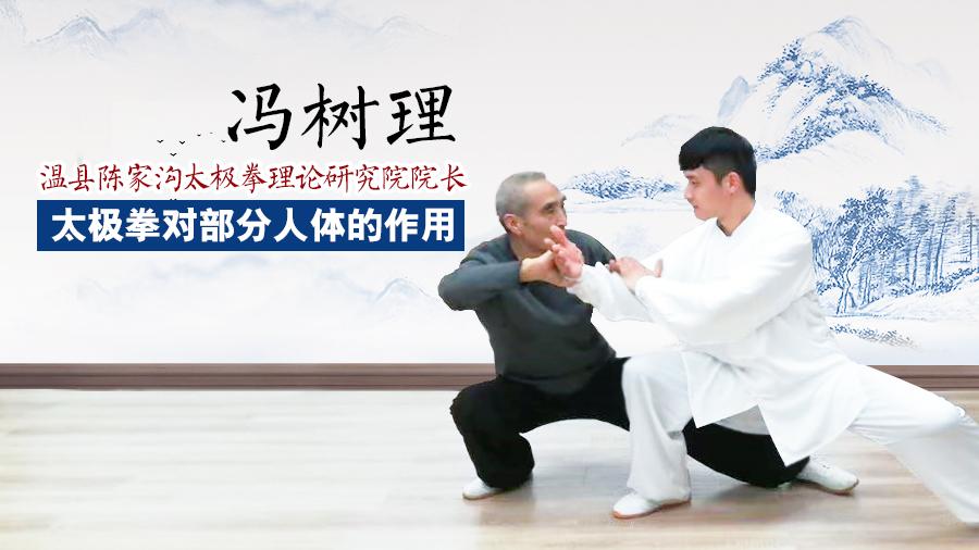 冯树理讲太极拳对部分人体的作用(一)
