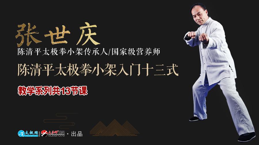 陈清平太极拳小架十三式入门