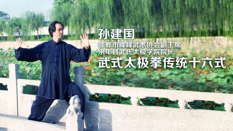 孙建国武式太极传统十六式 - 单鞭(四)
