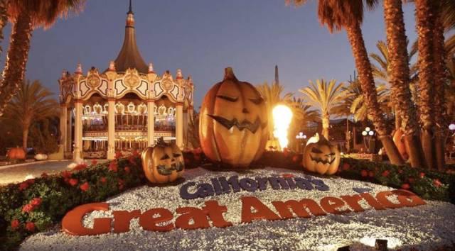 加州惊天大劫案, 大美洲主题公园2万游客遭百名青少年持械抢劫扬长而去