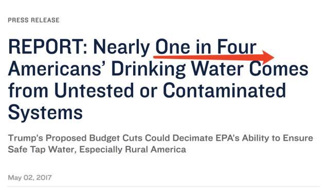 """美国7700万人喝致癌用水?华人扎堆的湾区竟成为""""重灾区"""""""