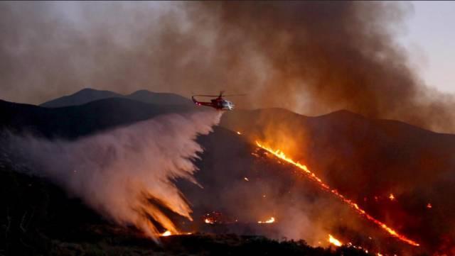 加州大火已失控!旧金山洛杉矶数千居民被迫撤离家园