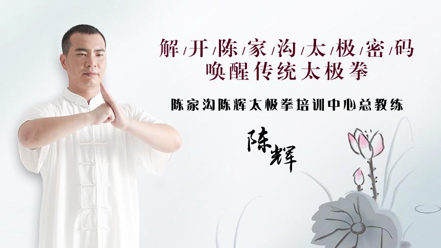 陈辉老师解读现在的太极拳专业术语