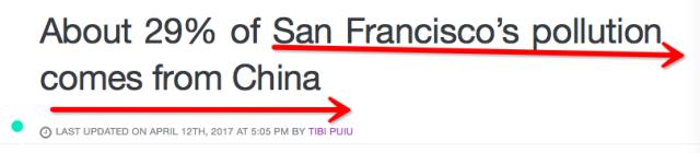 湾区被列入全美污染最严重城市,美国空气状况报告曝真相!